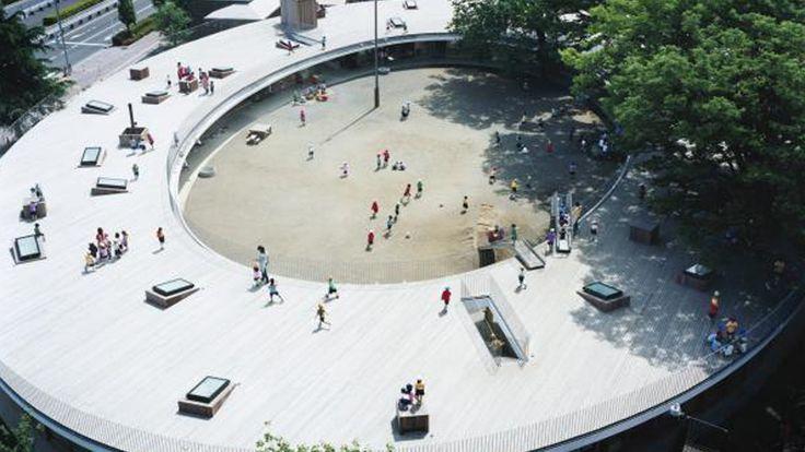 Архитектура для людей: овальный детский сад