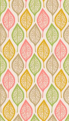 skeleton leaves - this would be a pretty wallpaper for an accent wall, or the interior of a closet perhaps