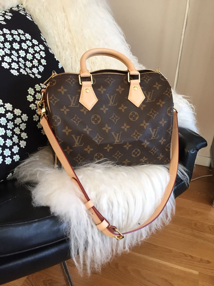 My new darling - Louis Vuitton Speedy 25 Bandouliére