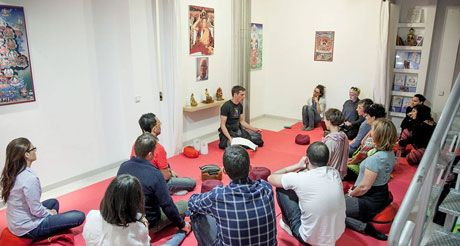 Curso de meditación en Centro Budista de Madrid