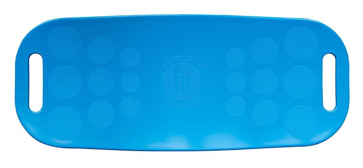 Amazon.com : Simply Fit 30046 The Abs Legs Core Workout Balance Board (Blue) : Sports & Outdoors