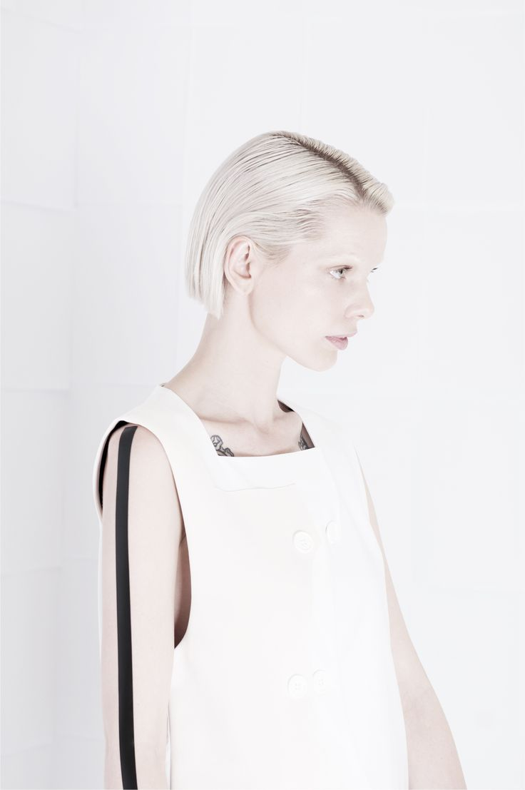 SS15 - D E L I N E A T I O N #orphanbird #ss15 #womenswear #minimalfashion #whitefashion #editorial #minimalism