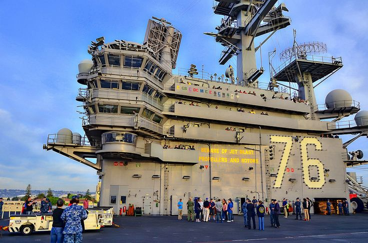 USS Ronald Reagan (CVN 76)...my son did his deployment on this ship!