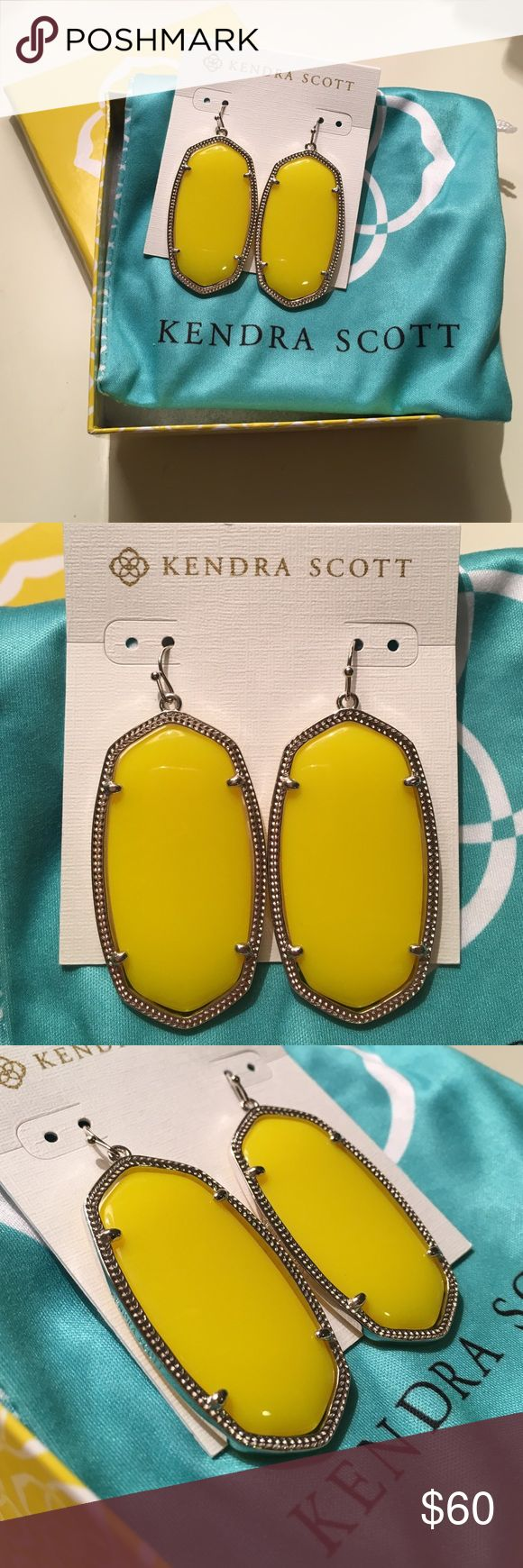 I want a pair of Kendra Scott yellow Danielle earrings. I have an Elsa Top and a fun yellow cardigan that these earrings would perfectly match. :)