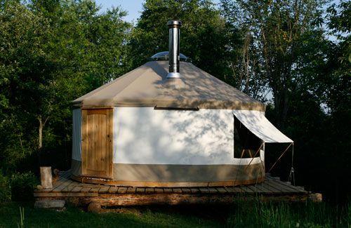 Yurta.ca Custom tent structures.Yurts, Yurt, Ontario ...