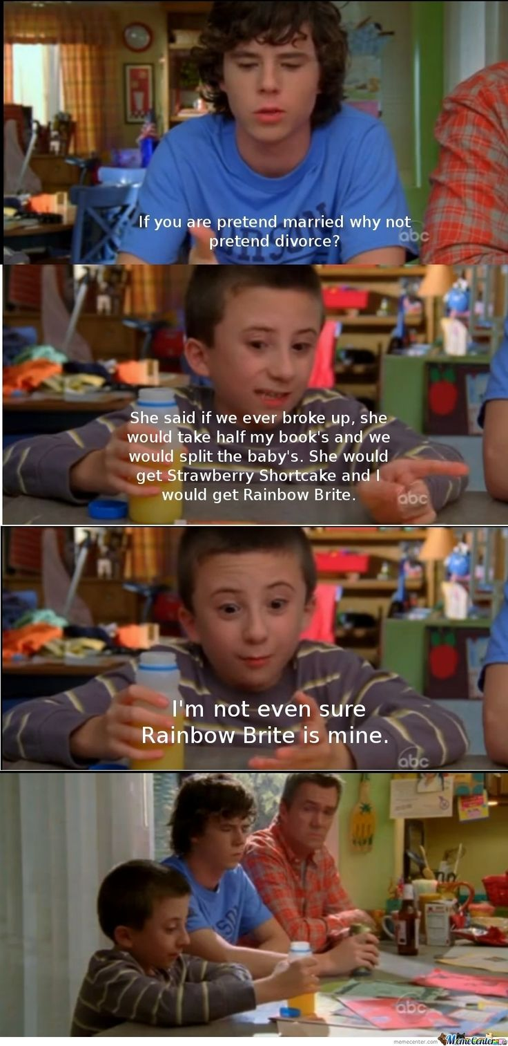 The Middle... Sometimes I like this show. Sometimes I don't. I don't like Patricia Heaton, so that kind of ruins it for me.