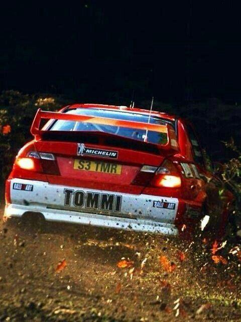 Tommi makinen Rally legend
