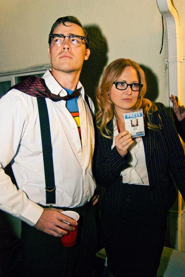 faschingskostüm ideen paare Clark Kent Lois Lane