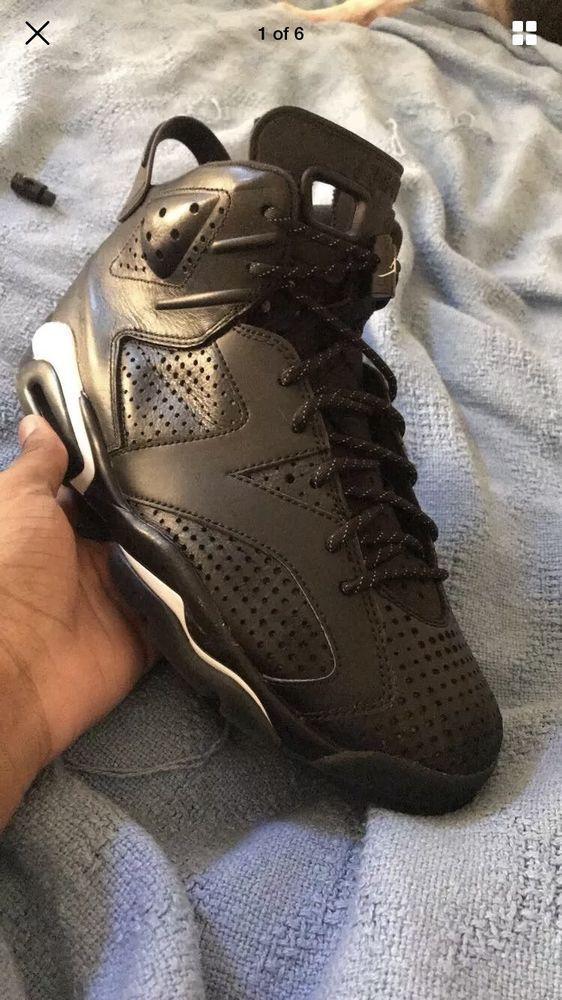 low priced 8d218 338c2 Jordan Retro 6 Black Cat Size 8  fashion  clothing  shoes  accessories   mensshoes  athleticshoes (ebay link)