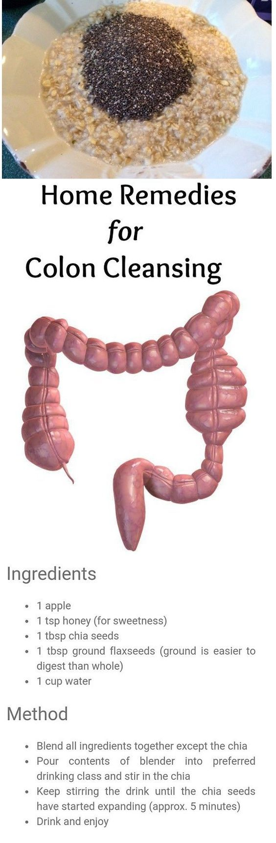 Homemade Colon Cleanse That Will Clean Your Colon of Toxic Waste: http://www.erodethefat.com/blog/fat-diminisher/