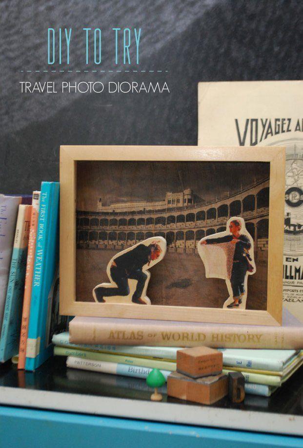 Travel Photo Diorama