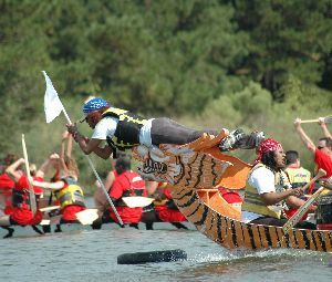 16th Annual YMCA Dragon Boat Races - September 25,  - September 28, 2014 at North shore Park.  Fun times!!  The Woodlands Texas Events Calendar on Woodlands Online