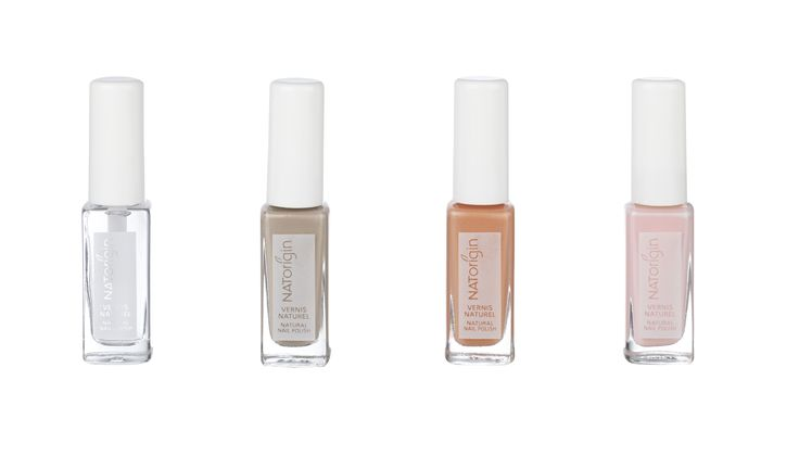 A natural nail polish with an ecological formulation containing up to 83% natural-origin ingredients sourced from corn, potato, wheat and manioc. They are easy to apply and provide a long-lasting shine and perfect hold.