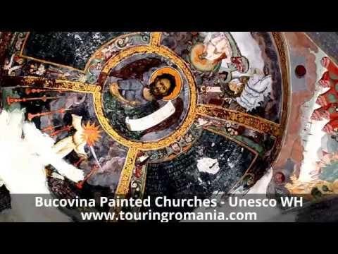 Visit Romania ! Bucovina Painted Churches - Unesco World Hetitage !