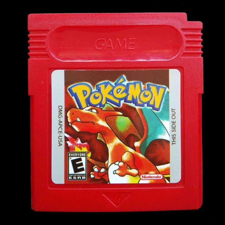 Pokemon Red Gameboy Advance Color GBC Game card US Version [Reproduction]  | eBay | @giftryapp