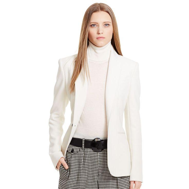 Stretch-Wool Portia Jacket - Jackets  Jackets & Outerwear - RalphLauren.com