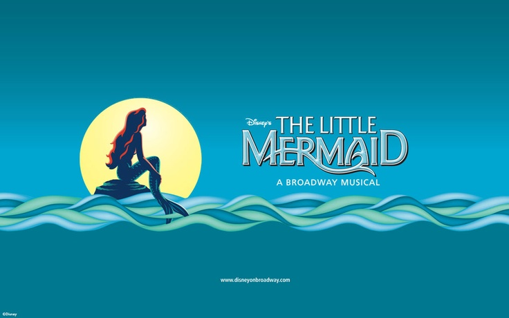 Logo for Disney's The Little Mermaid - A Broadway Musical ...