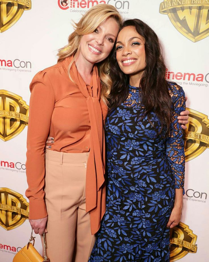 Katherine Heigl and Rosario Dawson