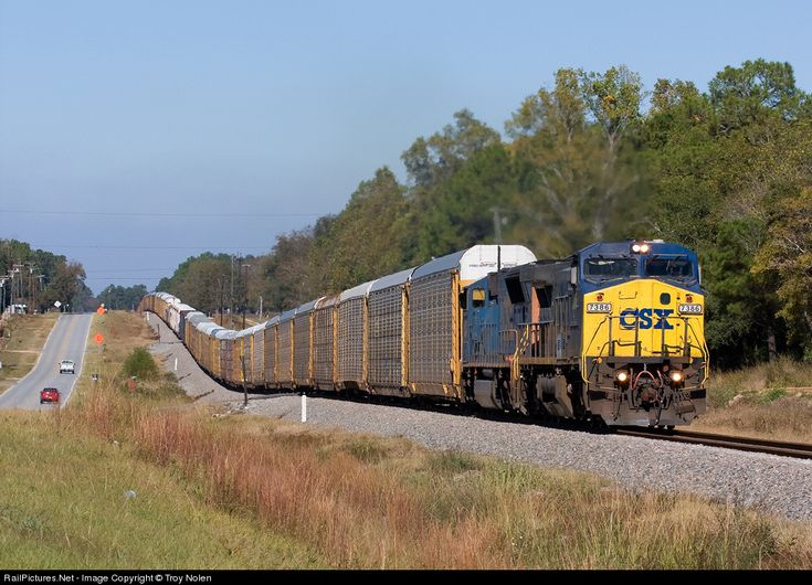 csx train in waycross, ga | RailPictures.Net Photo: CSXT 7386 CSX Transportation (CSXT) GE C40-8W ...