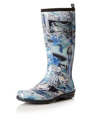 Kamik Women's Betty Rain Boot (Blue)