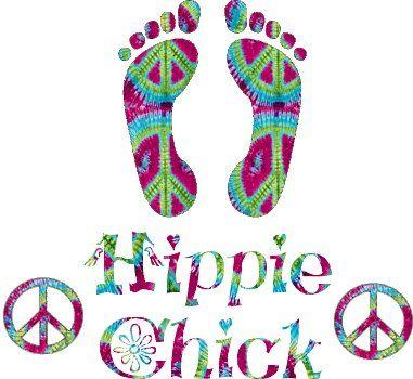 Yep, even with stilletos on. Hippie chick forever.