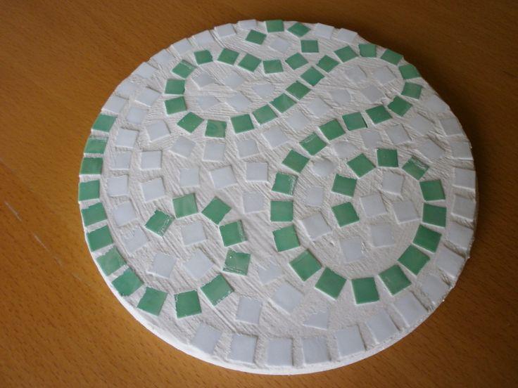 alten Kork-Untersetzer mit Mosaik verschönern