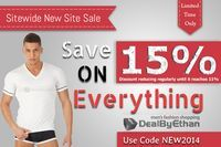 Storewide sale at DealByEthan. Today it's 15% off. Tomorrow it may or may not still be 15% off. The discount will be reduced reglarly until it reaches 11% ... It's easy to redeem your savings. Just enter code NEW2014 at...
