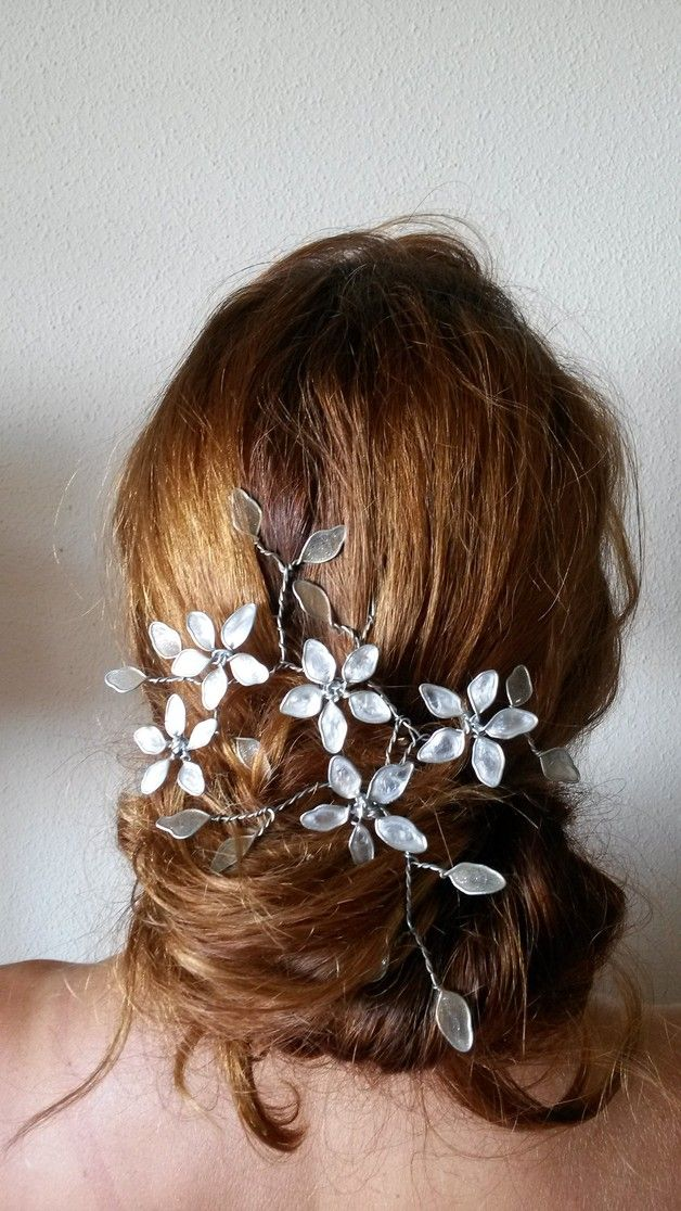 59 best images about adornos para el cabello on pinterest - Como hacer adornos para el pelo ...