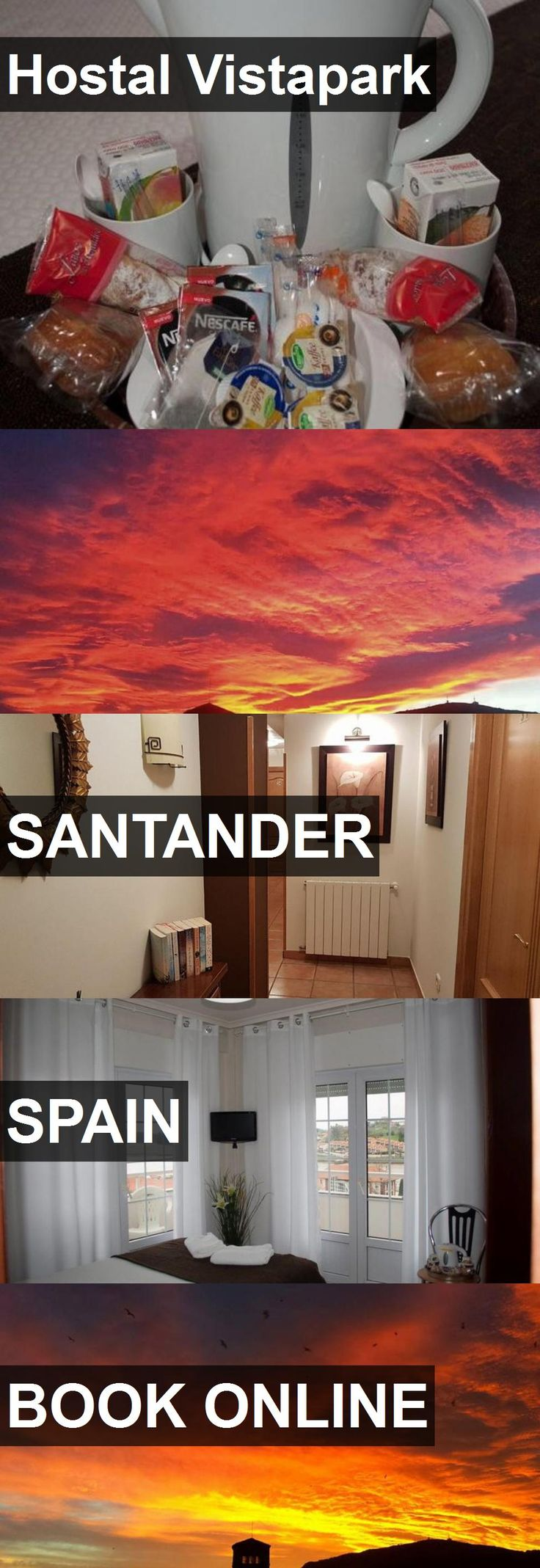 Hotel Hostal Vistapark in Santander, Spain. For more information, photos, reviews and best prices please follow the link. #Spain #Santander #travel #vacation #hotel
