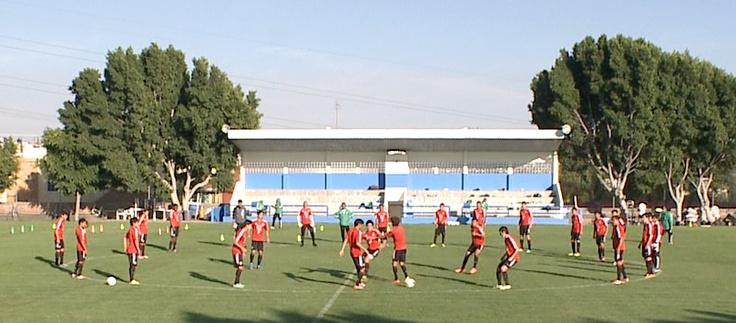 Entrenamiento de la Selección Sub20 en Puebla soccer