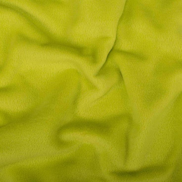 Fleece Antipilling - Frühlingsgrün