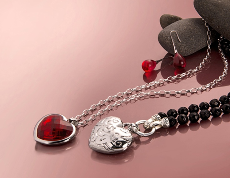 Kagi Jewellery. Hearts. Enchanted Collection