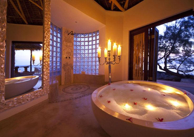 We specialize in planning the most romantic holiday package specially fit for you and your loved one.  #Romance #Bathroom #Bubbles www.mtbeds.co.za