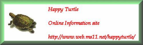 Happy Turtle Site - Online Pet Turtle Information Site  http://happyturtle.ms11.net/setup.html