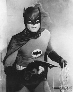 From the original B&W; TV series.  My cousin, Sharon, and I both had a crush on Robin.