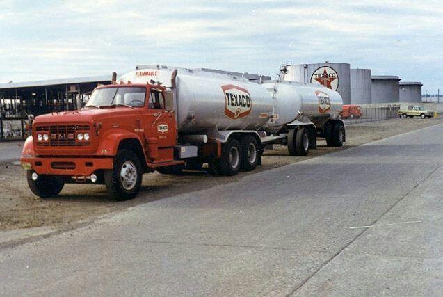 Gmc Fort Myers >> GMC truck n trailer tanker | Good o'l days of trucking | Pinterest | Trucks