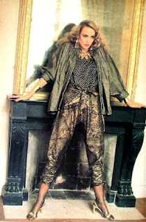 Yves Saint Laurent Rive Gauche - 1981 - Jerry Hall