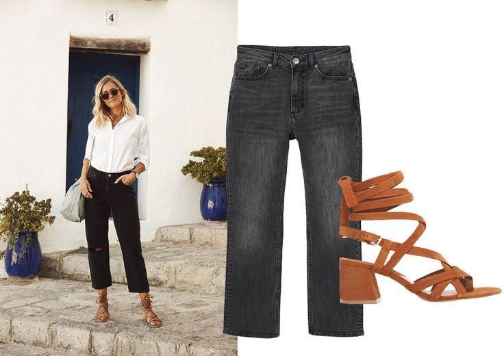 Svarta jeans året runt