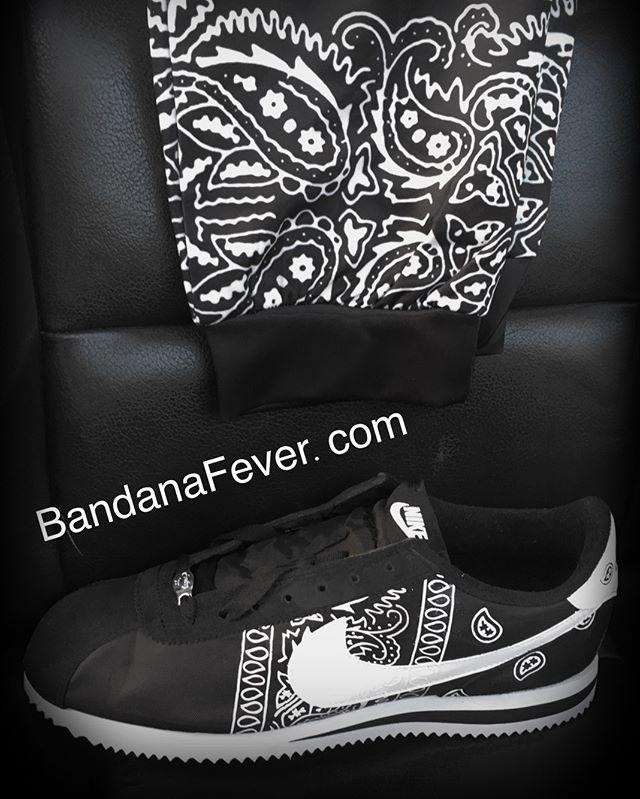Joggers + Shoes \u003d Bandana Fever Custom