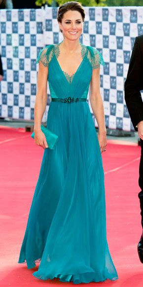 Kate, Great Color, Great Dress      jaglady