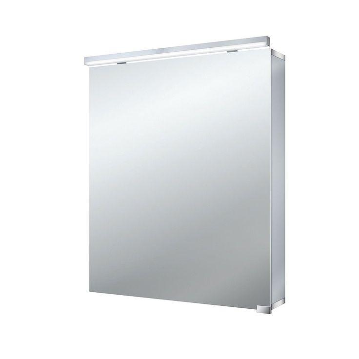 Hart 1 Door 600mm Mirror Cabinet | Hart Mirror Cabinets | CP Hart