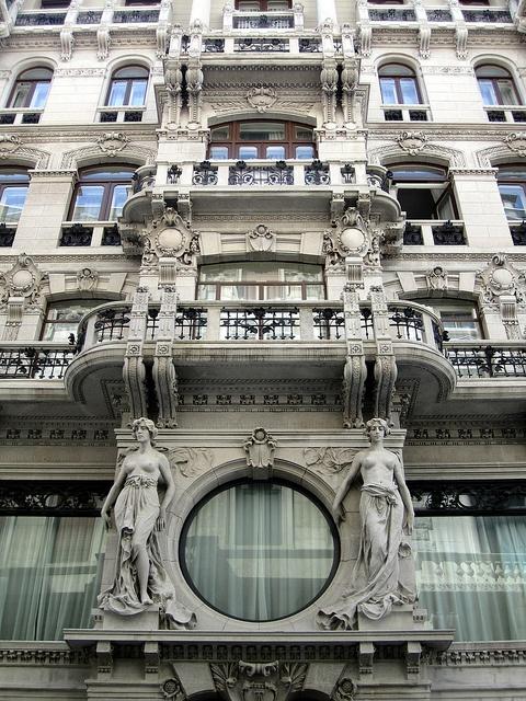 Grand art nouveau building, Trieste (Italia)