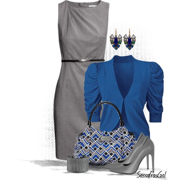 H&M Figure Fit Dress, created by sassafrasgal on Polyvore