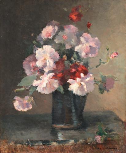 simena: Albert Lebourg (French Impressionist; 1849-1928) ~Bouquet de Fleurs
