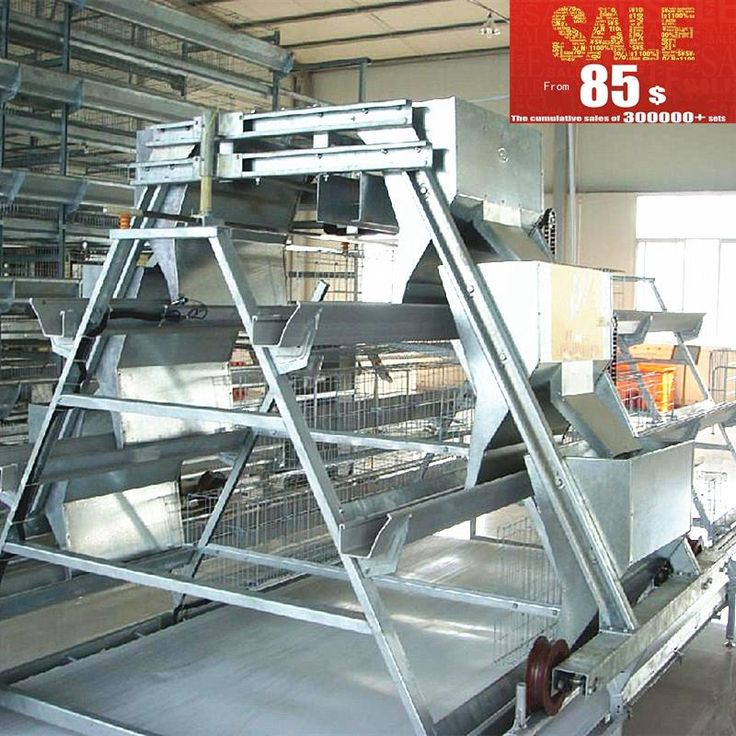 2.15m cage poultry equipment for chicken farm