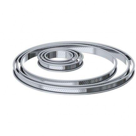 Cercles à tarte perforés de Buyer