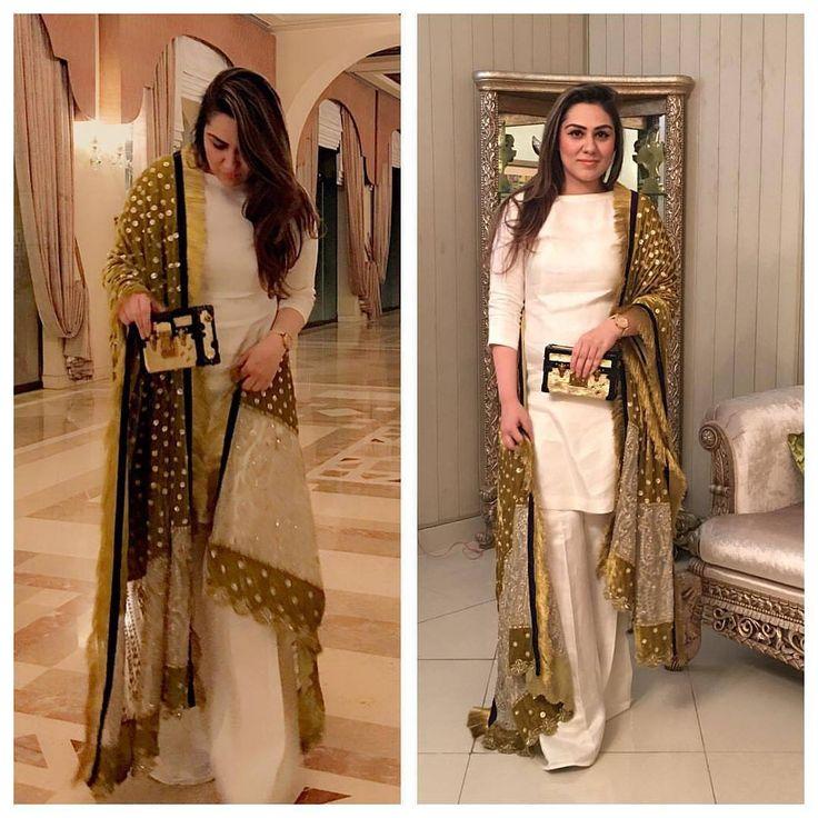 Gorgeous @alishiakhankhattak wearing @baraekhanomofficial !!