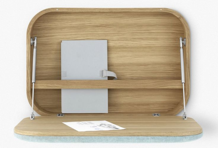 Get to Work at These 9 Wall-Mounted Desks - Core77