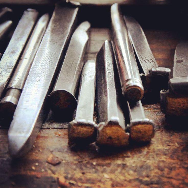 #outils pour décorer les viroles -#poinçons #ciselets - #métal #art