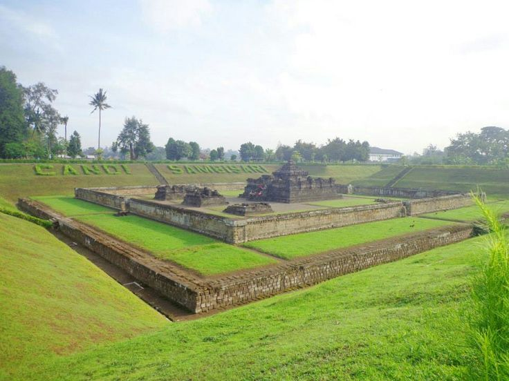 Sambisari Temple. A historic site in Sleman Yogyakarta.